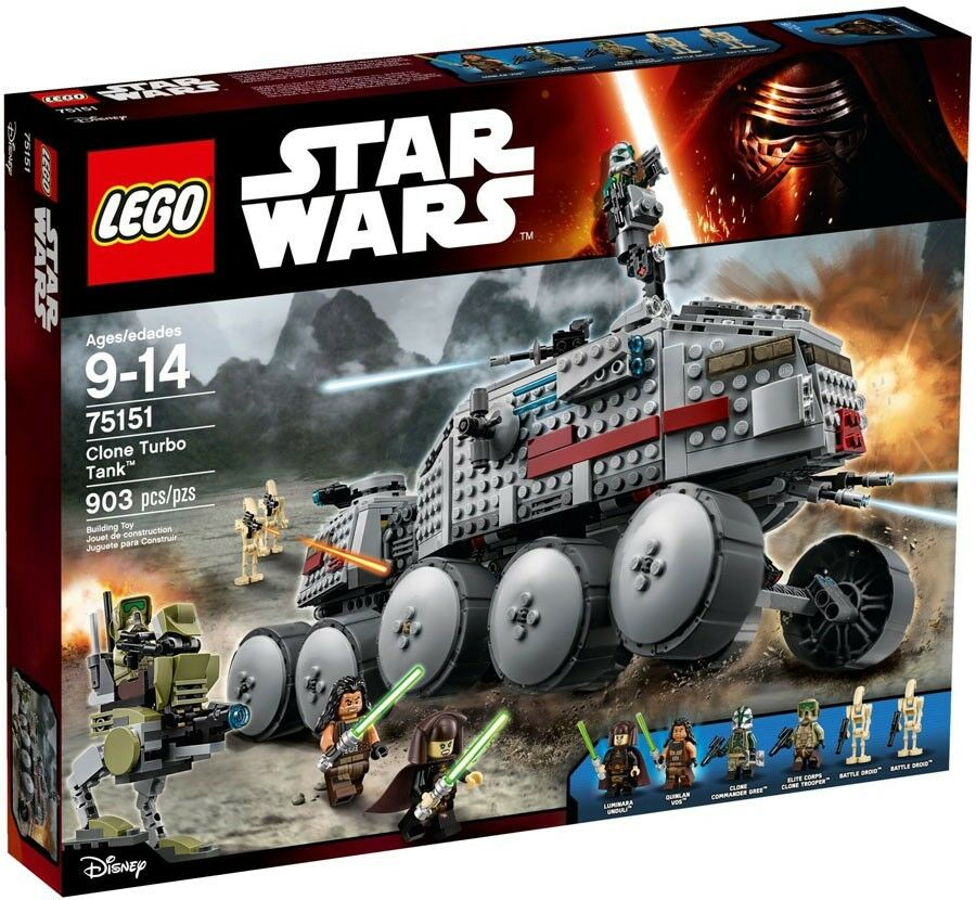 LEGO Star Wars Clone Turbo Tank Set