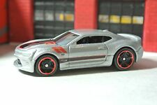 Hot Wheels '16 Chevy Camaro SS - Silver - Loose - 1:64 - Fifty