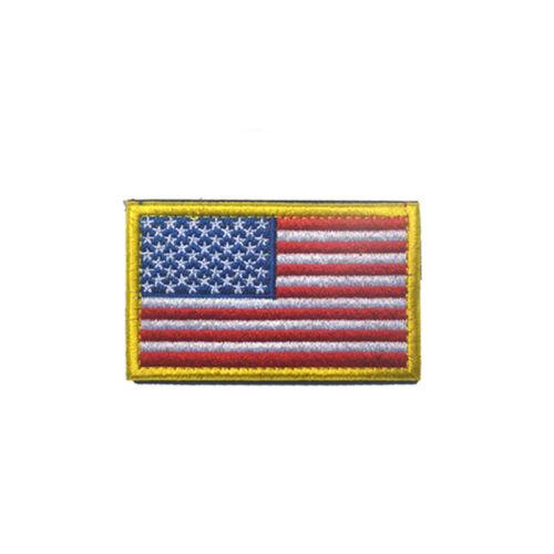 NASA Apollo 11 50th Shoulder Emblem Embroidered Velcro American Flag Badge