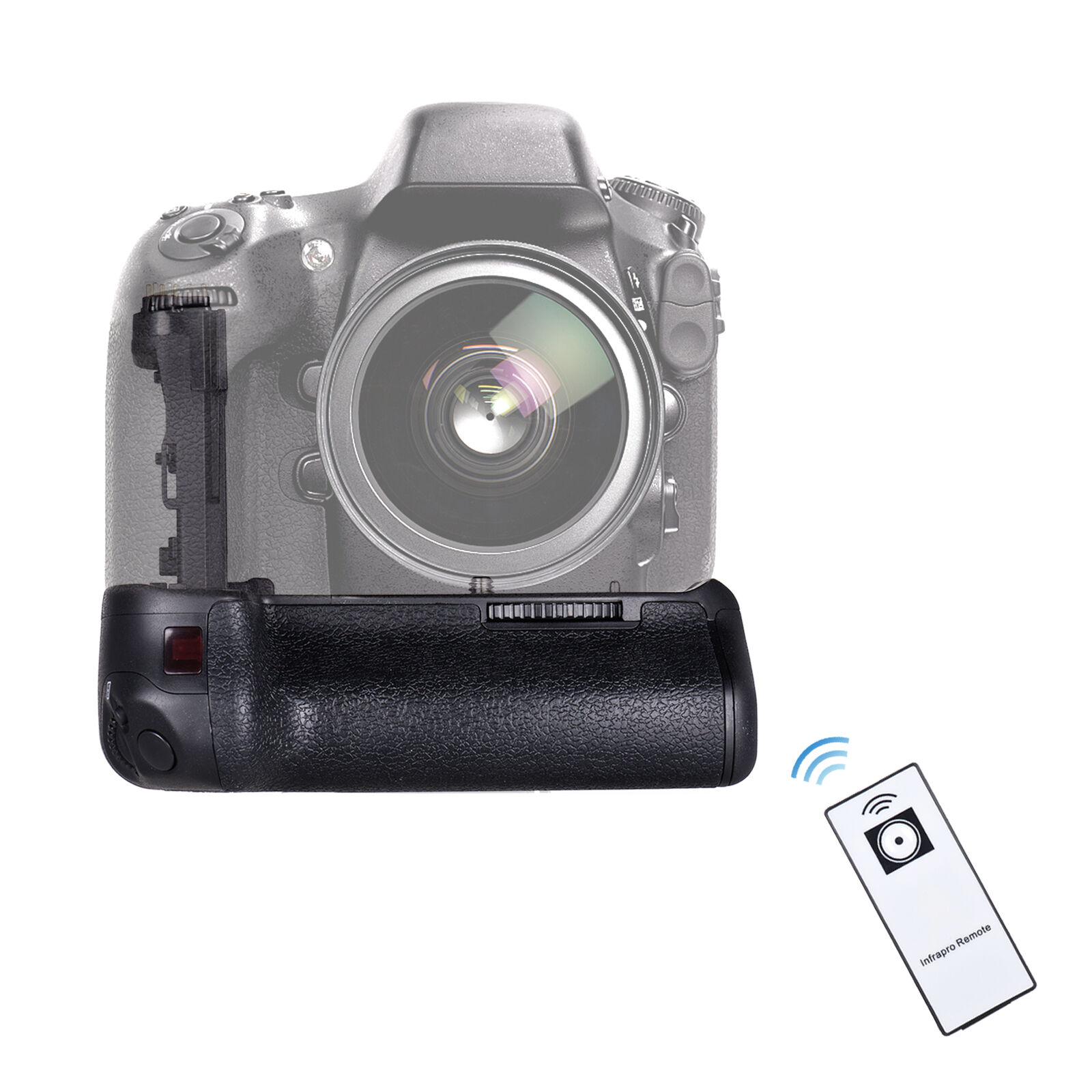 Professional Vertical Grip Holder Powered by -E6 AA LR6 V4B5