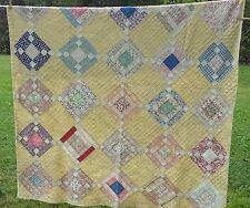 Vintage Quilt Variation Nine-Patch Pattern