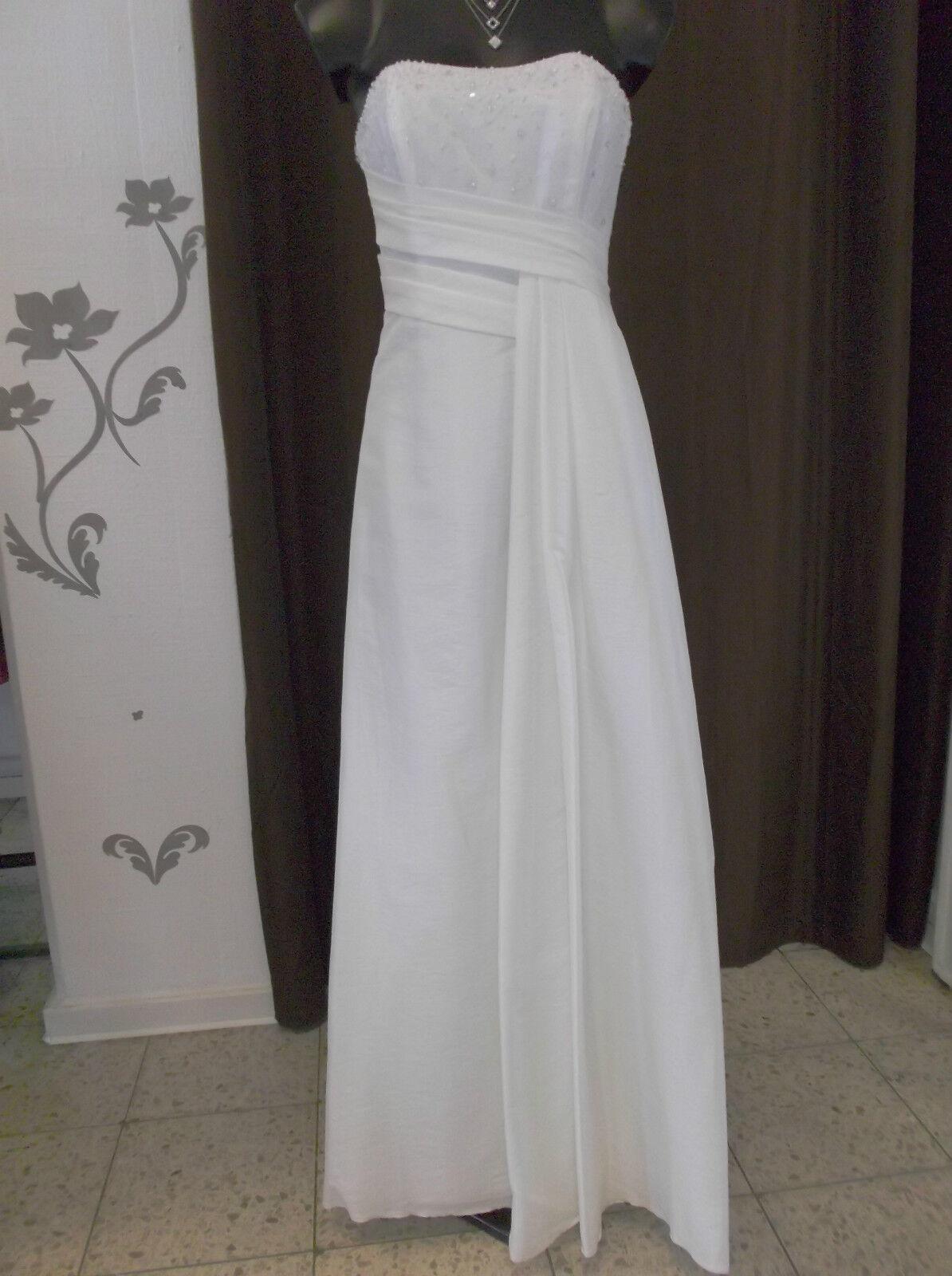 Laura Scott - Hochzeitskleid - weiß (creme) (creme) (creme) - Gr. 36 38 19bb01