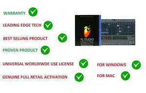 Details about FL STUDIO 20 FRUITY LOOPS SIGNATURE MUSIC SOFTWARE EDU  LICENSE WINDOWS & MAC