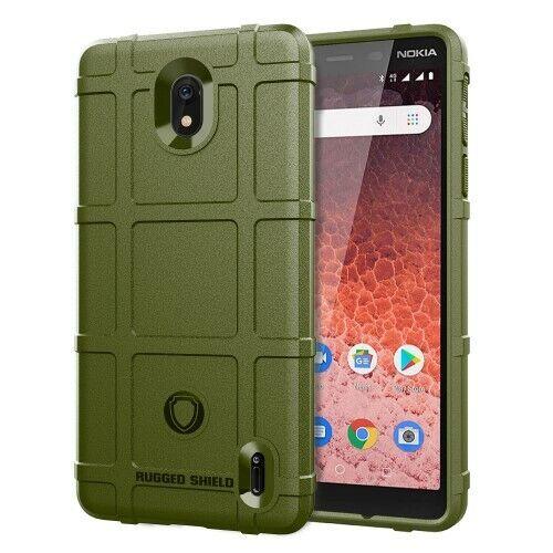 plus Etui Coque Housse Silicone Antichoc Grid Texture TPU Case Cover Nokia 1+