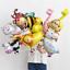 10Pc-Mini-Cartoon-Unicorn-Foil-Balloons-Baby-Shower-Birthday-Party-Balloon-Decor thumbnail 7