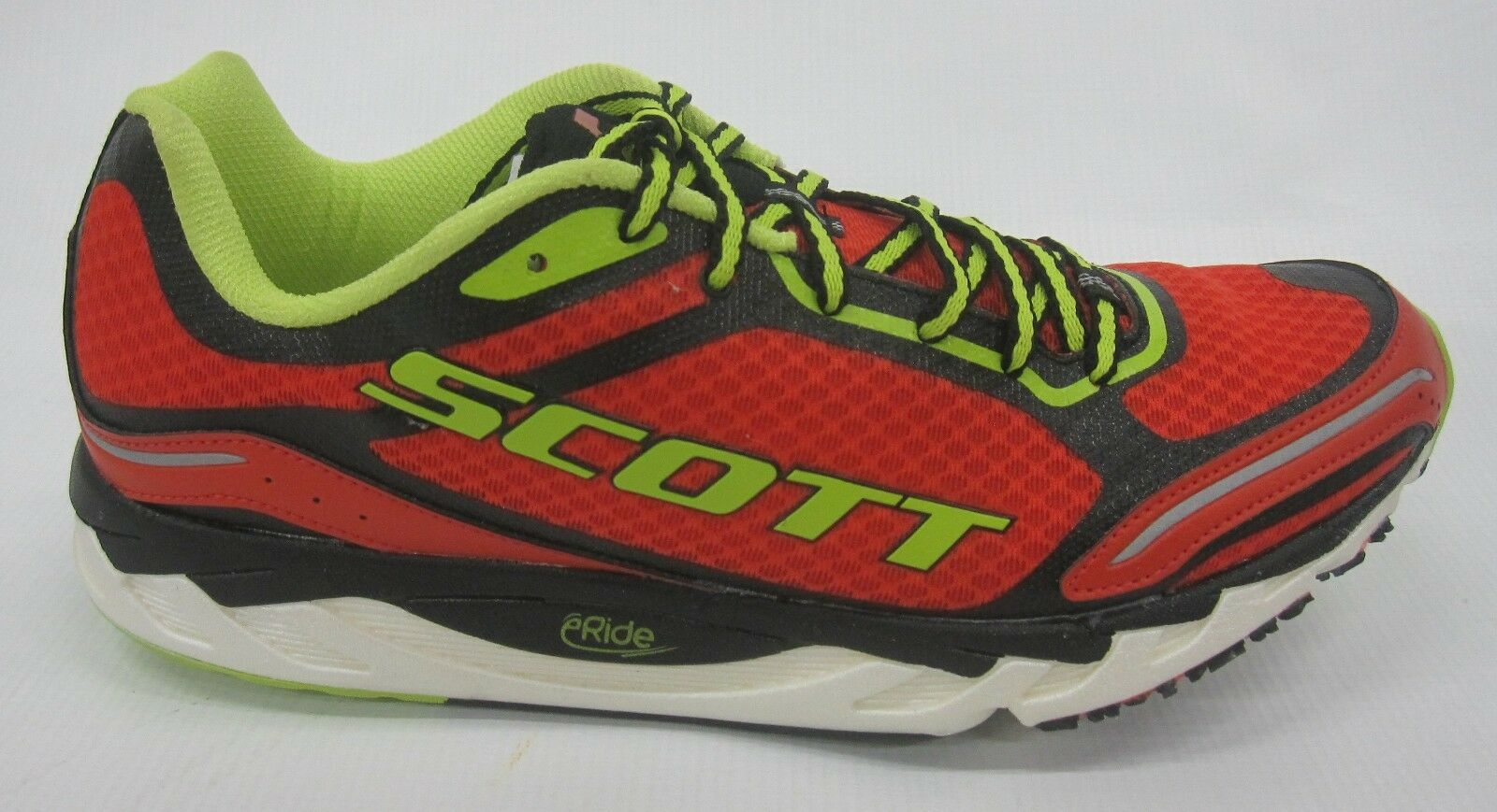 Scott Mens eRide AF Trainer 2.0 shoes 235891 Red Green Size 8.5