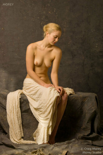 Mae 9815 Fine Art Nude hand-signed 8.5x11 photo by Craig Morey