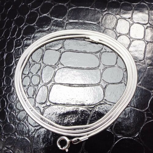 Schlangenkette  50 cm  925 Sterlingsilber Halskette