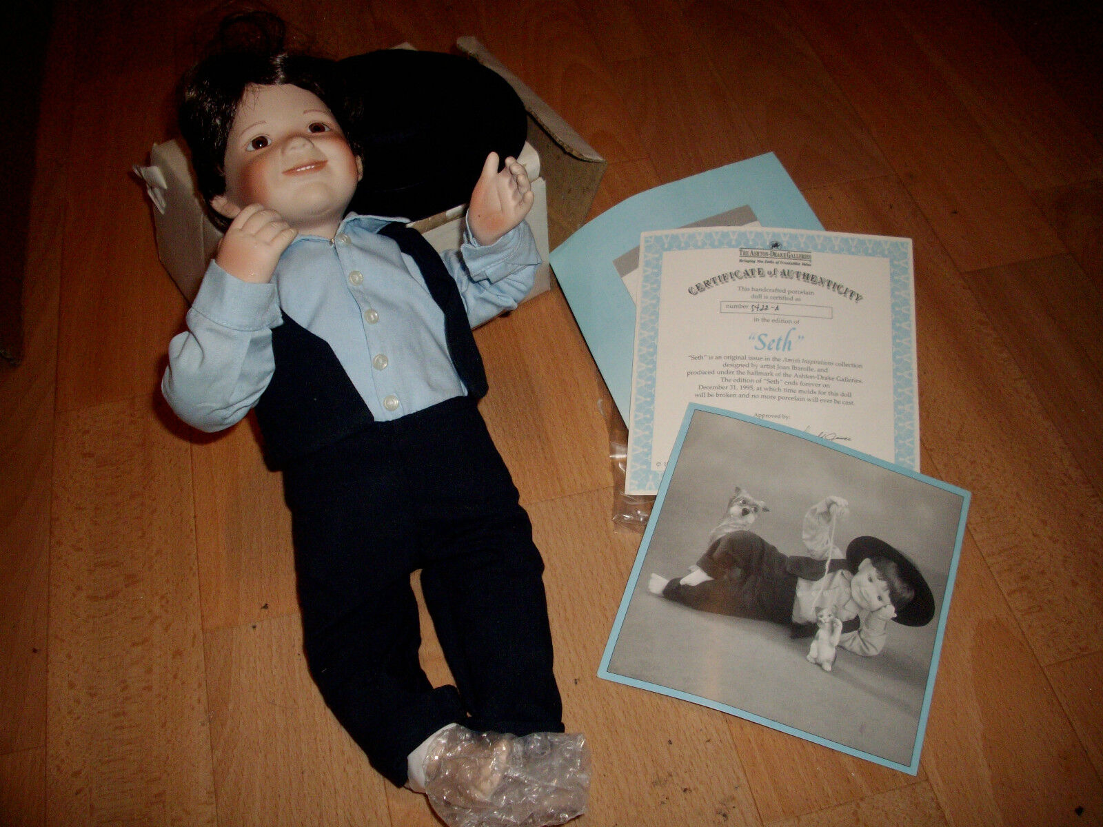 Ashton Drake bambola di porcellana Seth