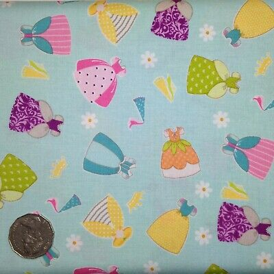 Seattle Rain City Sewing Quilting Fabric FQ Blue