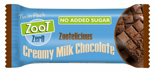 Zoot Boost Zero Creamy Milk Chocolate 12 X 40g