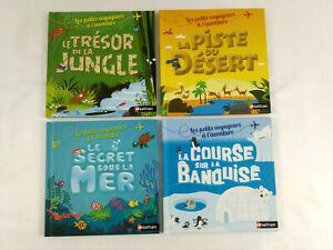 Integrale-4-livres-enfants-Les-petits-voyageurs-a-l-aventure-Nathan-Envoi-suivi
