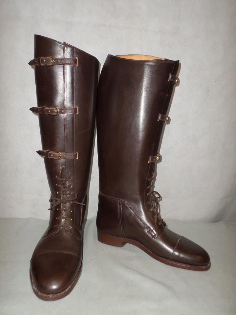 Schnieder botas, W&H gidden -  La Correa Y Hebilla Cordones Bota de Campo  8.5 de ancho