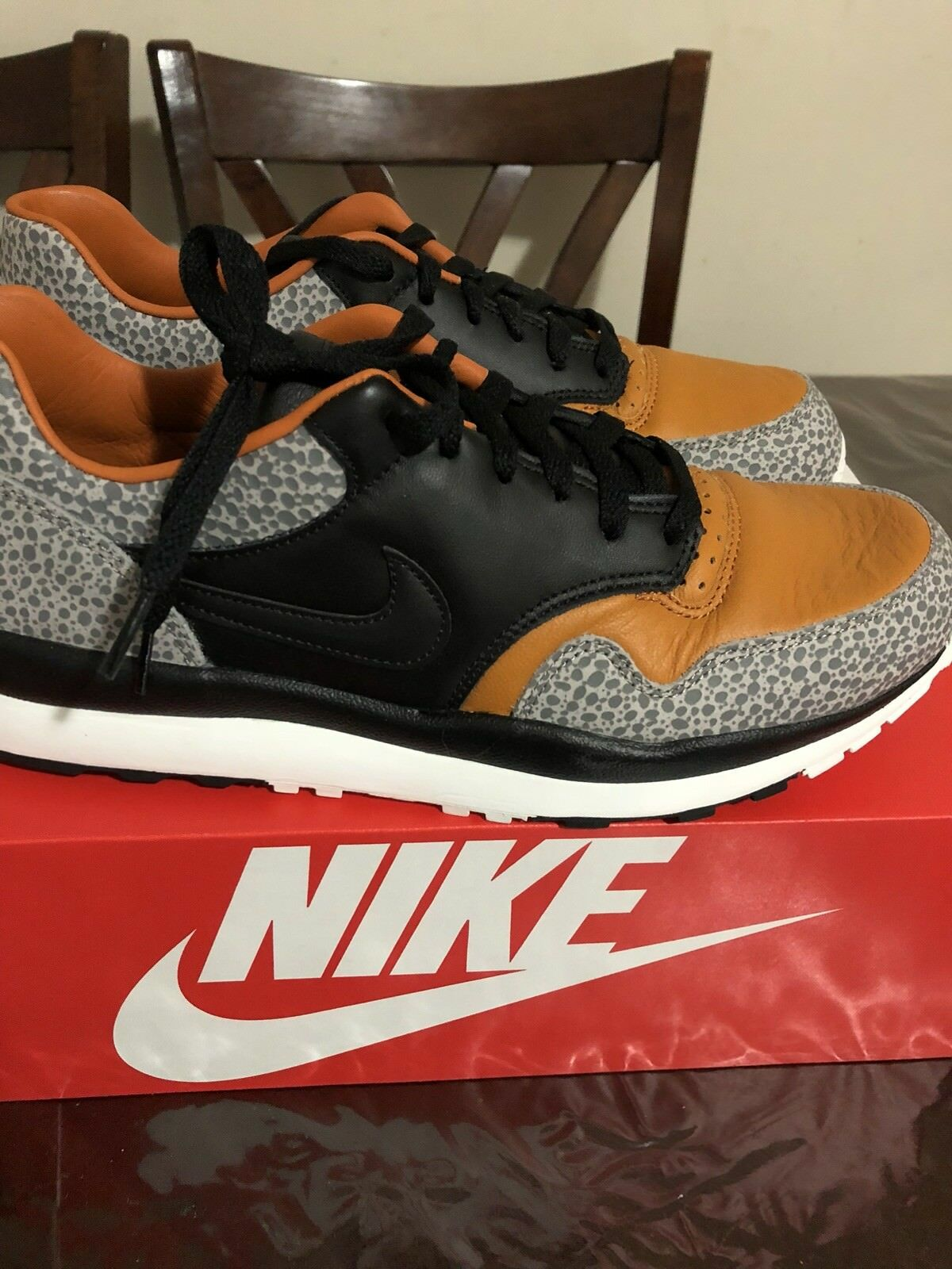 NIKE AIR SAFARI QS JUNGLE FLASHBACK SIZE 10 DS CONFIRMED Order SOLDOUT