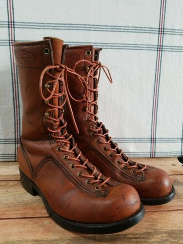 Paul Bunyan Shoe Lace Up Boots