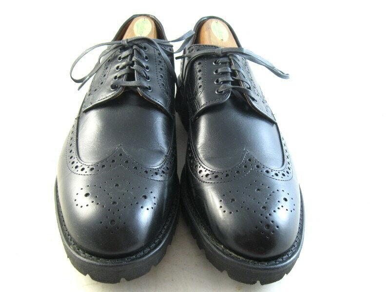 Allen Edmonds  TATE  Derbies 8.5 D noir (1184)