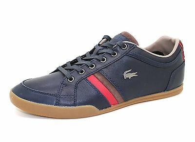 New Lacoste Men's Rayford 10 Leather Lace up casual Fashion Shoes Sneakers