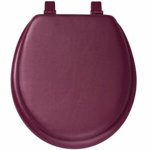 Super Details About Padded Toilet Seat And Lid Burgundy Theyellowbook Wood Chair Design Ideas Theyellowbookinfo