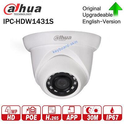 dahua IPC-HDW1431S 4MP POE IR replace HDW1420s CCTV 2.8//3.6mm Day//Night Camera
