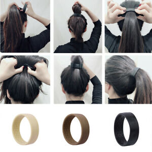 1PC Ponytail Holder Women's Foldable Hair Accessories Elastic Hair Bands