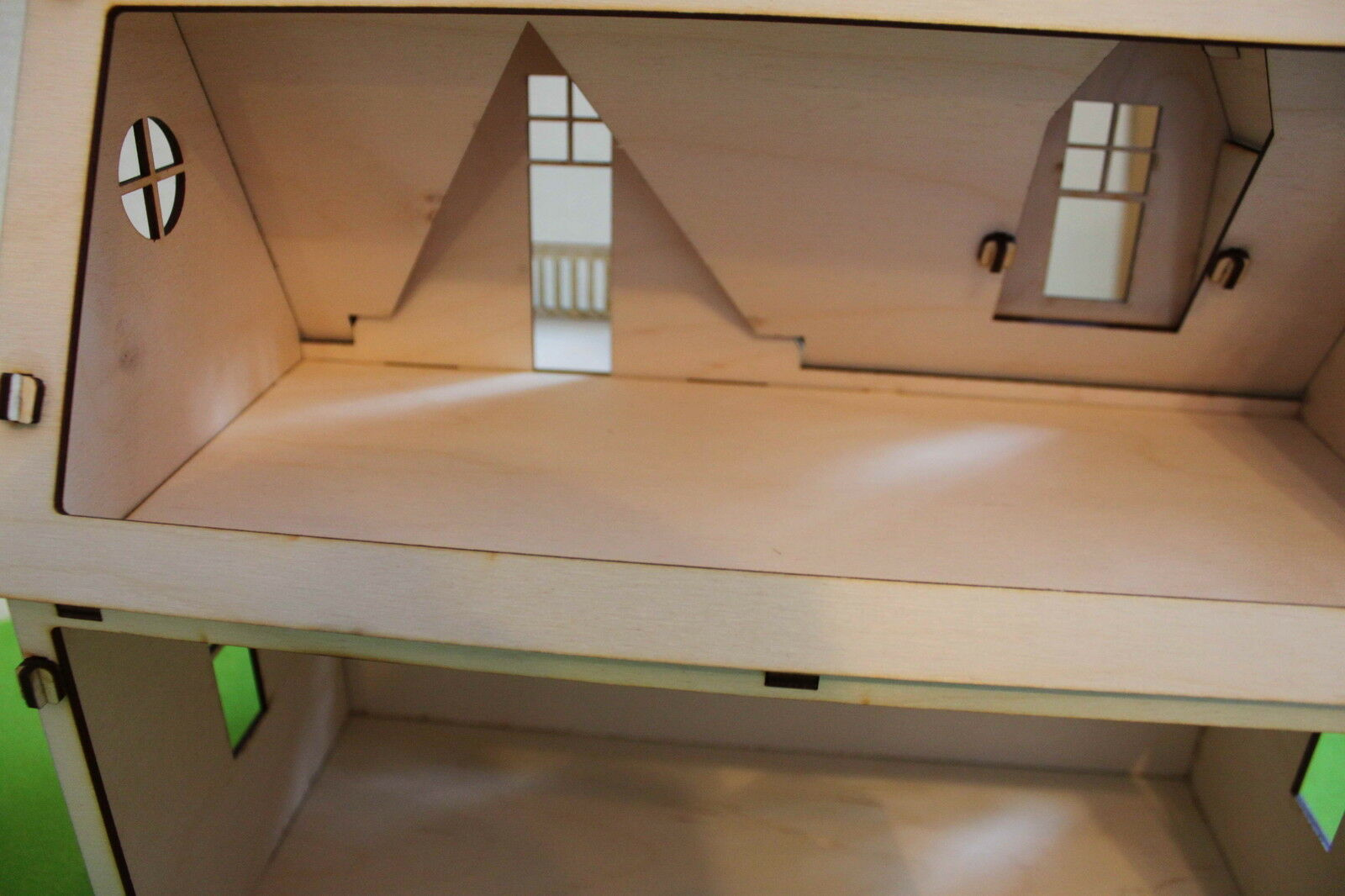 Wooden 3D Doll House  Craft Kit Kit Kit Self-assembly Little Cottage Handmade Laser Cut eb4c32