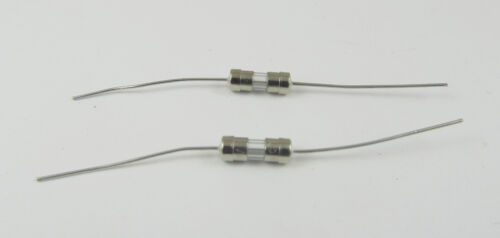 200pcs Glass Tube Fuse Axial Leads 3.6 x 10mm 3A 3Amps F3A Fast Quick Blow 250V