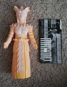 Figurine Kaiju Robot Mère Jaune Marmit Vinyle Sofubi Toygraph Marusan Rxh Rare!
