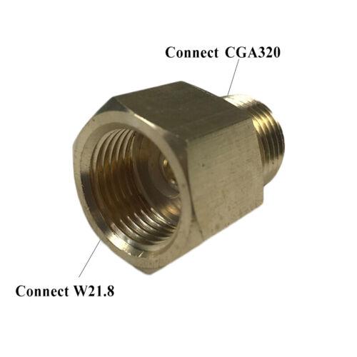 CGA-320 Cylinder Refill Stecker Adapter Für CO2 Sodastream Homebrew Füllstation