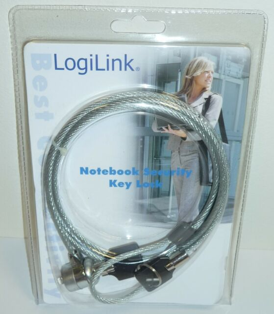 LogiLink Notebook / Laptop Security Lock With Keys - 1.5 m Cable