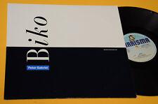 """PETER GABRIEL GENESIS 12"""" BIKO ORIG ITALY 1980 EX+ TOP COLLECTORS"""