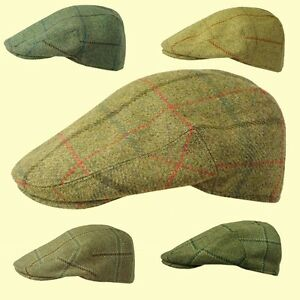 580114006e Details about Failsworth Quality Tweed Flat Cap 100% Wool Shooting Cap  Fishing Hunting 56-63cm