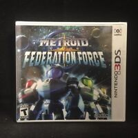 Metroid Prime: Federation Force (Nintendo 3DS, 2016)