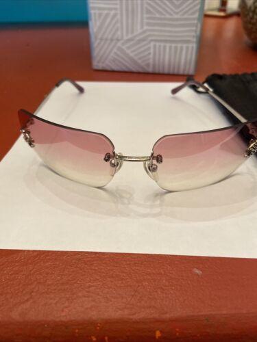 Chanel CC Logo Rhinestone Sunglasses 4092-B
