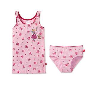 Schiesser Garnitur Set Mädchen Unterhemd Slip Unterhose Lillifee NEU