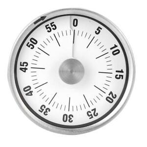 Timer-Eieruhr-Kurzzeitmesser-Kuechentimer-Wecker-mit-Magnet-Mechanisch-Timer-60dB