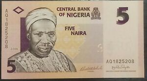 Nigeria-5-Naira-uncirculate-bank-note