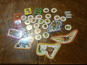Vintage Star Wars Wicket The Ewoks Board Game Parts Pieces ...