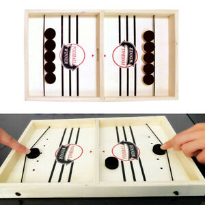 Fast Sling Puck Game Paced SlingPuck Winner Board Game Toys Child Juego M0H1