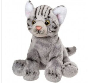 Suki 12013 Cat Grey 5 1/8in Cuddly Toy Collection Suki Classic