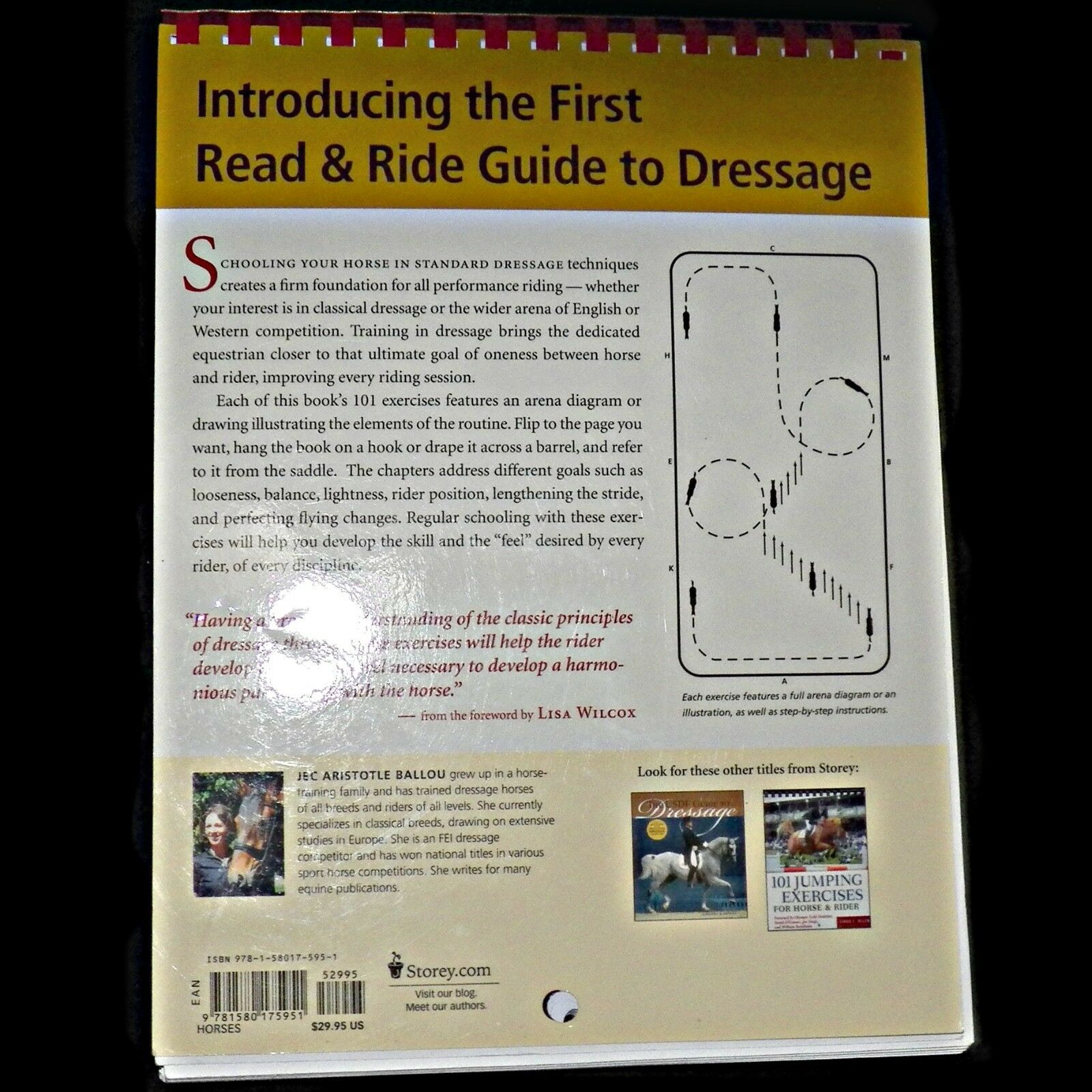 Read and Ride: 101 Dressage Exercises for Horse and Rider by Jec Aristotle  Ballou (2005, Paperback) | eBay