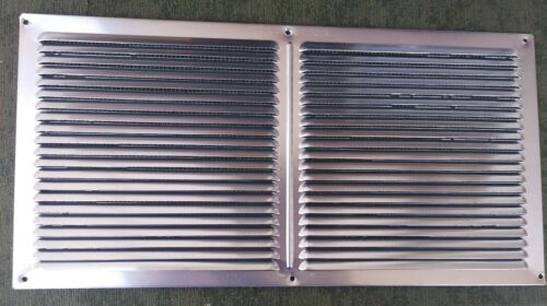 "Vent Return Grille Vent Cover Silver 16/"" x 8/"" With Metal Screen"