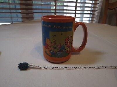 Houston harvest Winnie the Pooh coffee tea cup mug Bee Friendly Happy being me