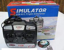 Dynam RC Tech 6CH FMS USB RC Flight Simulator DYU-1002 Mode 1 Right Throttle