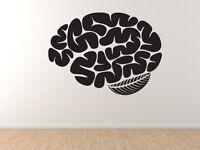 Medical #3- Brain Matter Biology Nervous System Art -Vinyl Wall Decal