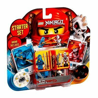 NINJA Master of spinjitzu Starter Set Arena Include