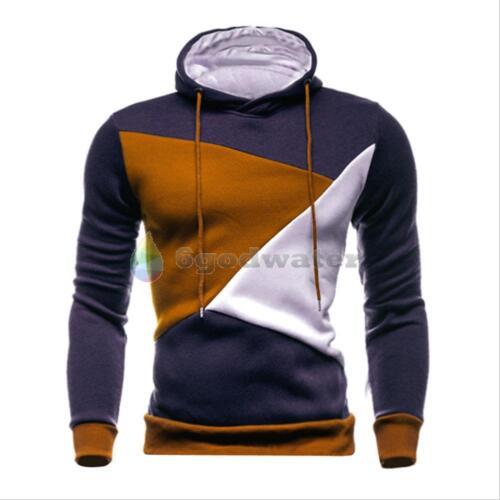 Men/'s Winter Slim Hoodie Hooded Sport shirt Coat Jacket Outwear Pullover Sweater