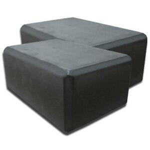 2pcs-Yoga-Block-Brick-Foaming-Foam-Home-Exercise-Practice-Gym-Sport-Tool-Black