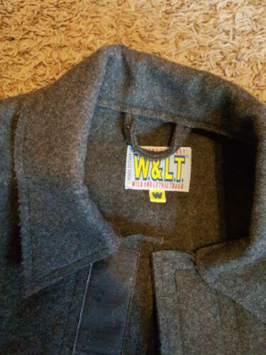 Rare! W&LT Wild & Lethal Trash Men's DarkGray Coat