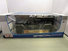 MAISTO 1/18 SPECIAL EDITION JEEP RESCUE CONCEPT NEW IN BOX POLICE?