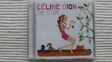 Celine Dion Sans Attendre (Rare/N Mint) 2012 UK CD NEVER PLAYED PROMO STICKERED